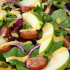 Apple, Spinach and Sausage Salad