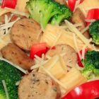Italian Chicken Sausage & Broccoli Ziti